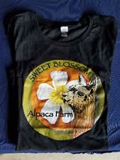 Alpaca T-Shirt – Grey with a Colorful Alpaca