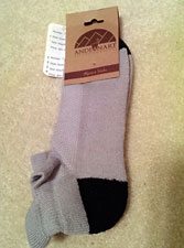 Cushioned Tab Ankle Socks – Grey and Charcoal